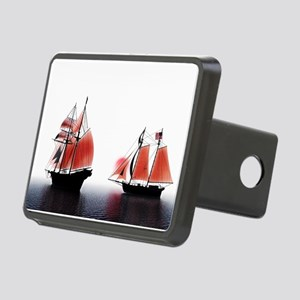 Tall Ships Red Dawn Rectangular Hitch Cover