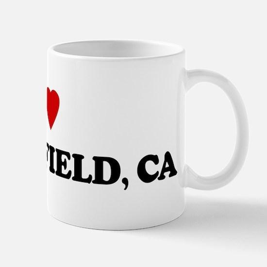 I Love Bakersfield Mug