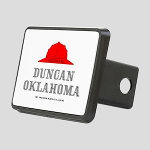 Duncan Oklahoma Rectangular Hitch Cover