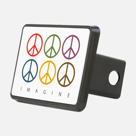 Imagine - Six Signs of Peace Hitch Cover