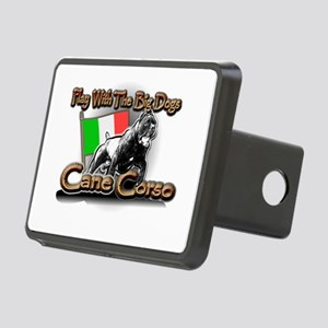 Play Cane Corso Rectangular Hitch Cover