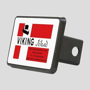 Viking Jihad! Rectangular Hitch Cover