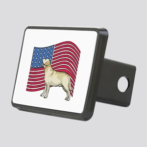 USA Lab Rectangular Hitch Cover