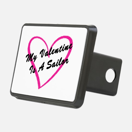 My Valentine Is A Sailor Hitch Cover