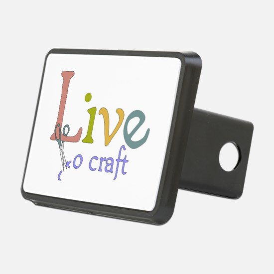 Live To Craft Hitch Cover