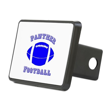 Panther Football Rectangular Hitch Cover