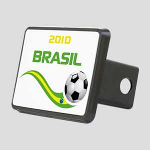 Soccer 2010 BRASIL Rectangular Hitch Coverle)