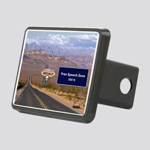 Death Valley Free Speech Rectangular Hitch Cover
