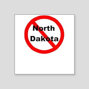 """northdakota Square Sticker 3"""" x 3"""""""