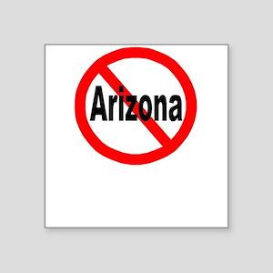 "arizona Square Sticker 3"" x 3"""