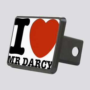 I Love Darcy - Jane Austen Rectangular Hitch Cover