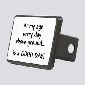 At My Age Rectangular Hitch Cover