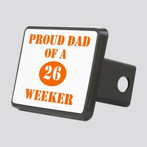 Proud Dad 26 Weeker Rectangular Hitch Cover