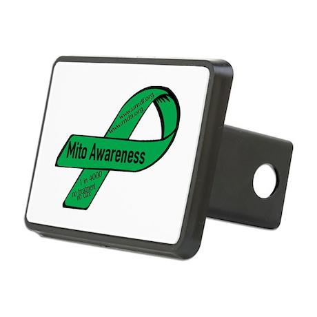 Mito Awareness Rectangular Hitch Cover