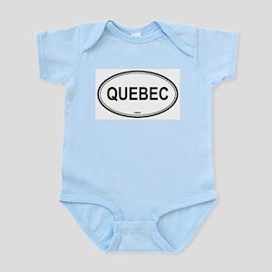 Quebec, Canada euro Infant Creeper