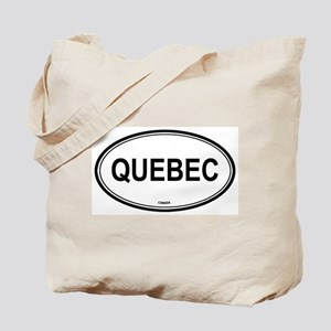 Quebec, Canada euro Tote Bag