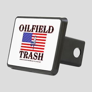American Oilfield Trash Rectangular Hitch Cover