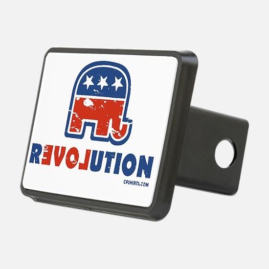 GOP Revolution Rectangular Hitch Coverle)