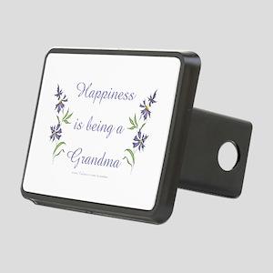 Happy Grandma Rectangular Hitch Cover