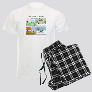 The Four Seasons Keeshond Men's Light Pajamas