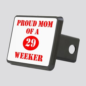 Proud Mom 29 Weeker Rectangular Hitch Cover