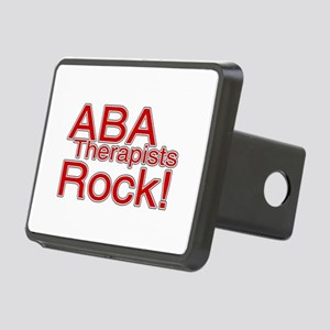 ABA Therapists Rock! Rectangular Hitch Cover