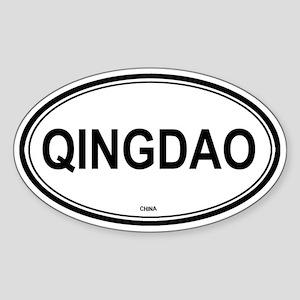 Qingdao, China euro Oval Sticker