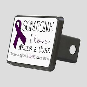 Someone I Love Needs a CURE! Rectangular Hitch Cov
