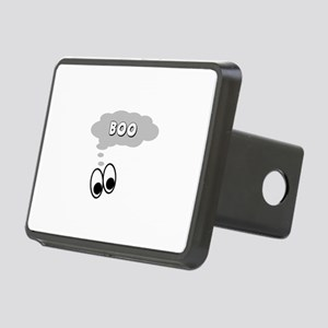 Ghost Eyes Boo Rectangular Hitch Cover