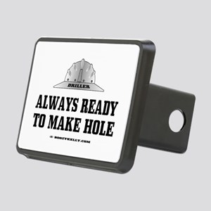 Always Ready To Make Hole Rectangular Hitch Cover