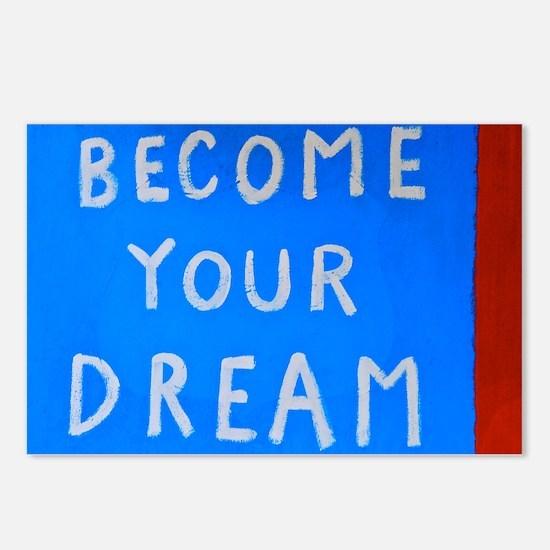 Street Wisdom: Become You Dream Postcards (Package