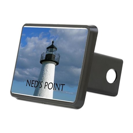 Ned's Point Lighthouse Rectangular Hitch Cover