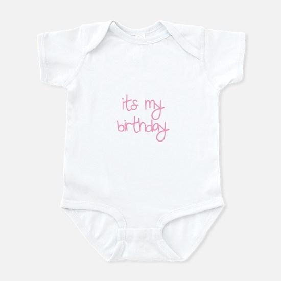 """""""its my birthday"""" Infant Bodysuit"""