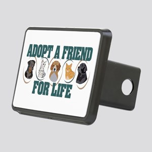Adopt A Friend Rectangular Hitch Cover