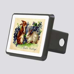 """Easter Bunnies"" Rectangular Hitch Cover"
