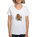 Franklin Skates Women's V-Neck T-Shirt