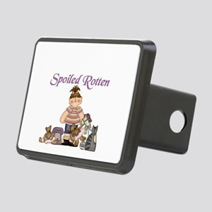 SPOILED ROTTEN Rectangular Hitch Cover