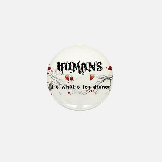 human logo.jpg Mini Button