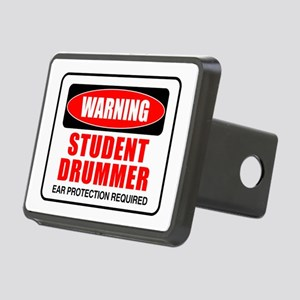 Student Drummer Rectangular Hitch Cover