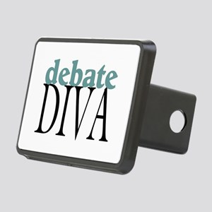 Debate Diva Rectangular Hitch Cover