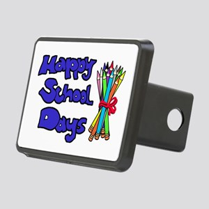 Happy School Days Rectangular Hitch Coverle)
