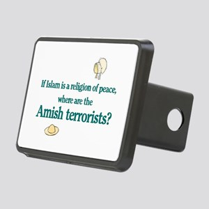 Amish Terrorists Rectangular Hitch Cover