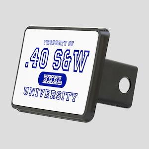 .40 S&W University Rectangular Hitch Cover