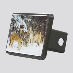 """""""Wolf Pack"""" Rectangular Hitch Cover"""