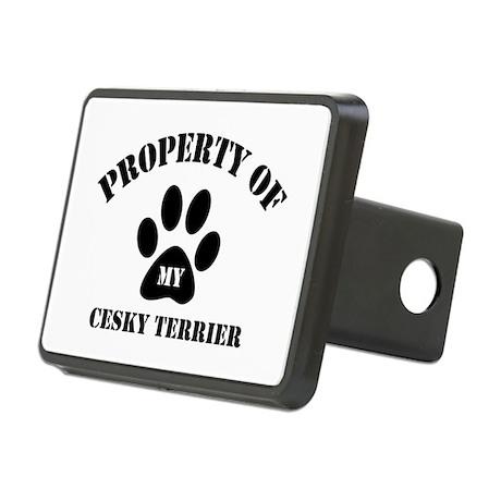My Cesky Terrier Rectangular Hitch Cover