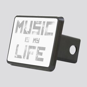 Music Is My Life Rectangular Hitch Cover