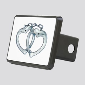 Handcuffed Hearts Rectangular Hitch Cover