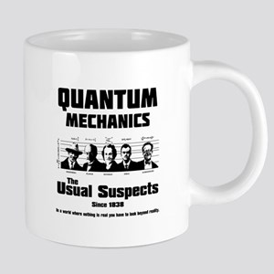 Quantum Mechanics-The Usual Suspects Mugs