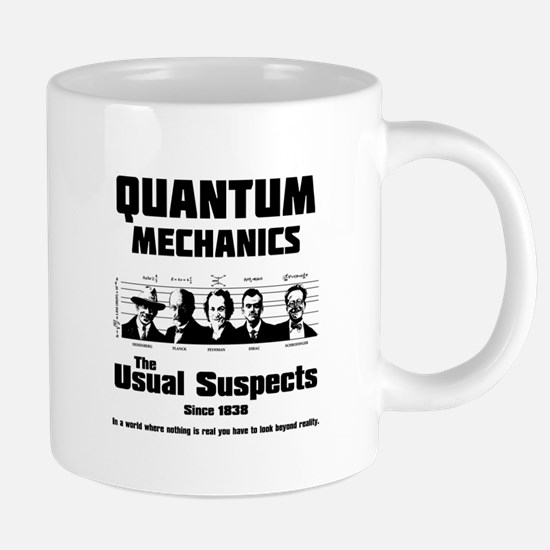 Quantum Mechanics-The Usual Suspects Mugs