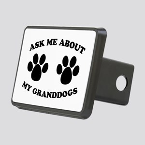 Ask About Granddogs Rectangular Hitch Cover